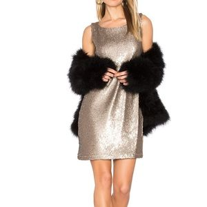 Penley Sequin Shift Dress